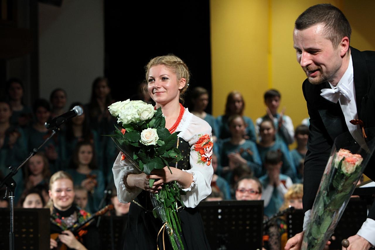 Инна Каменева и Владимир Шкуровский