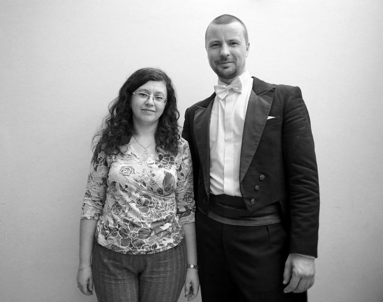 Наталья Хондо и Владимир Шкуровский