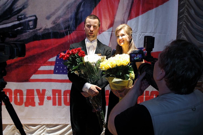 Владимир Шкуровский и Виктория Цыганова