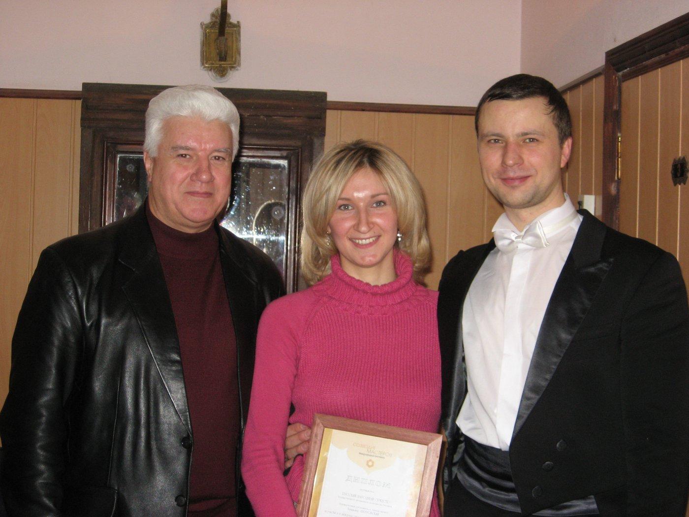 Борис Сергеевич Ворон, Анна и Владимир Шкуровский