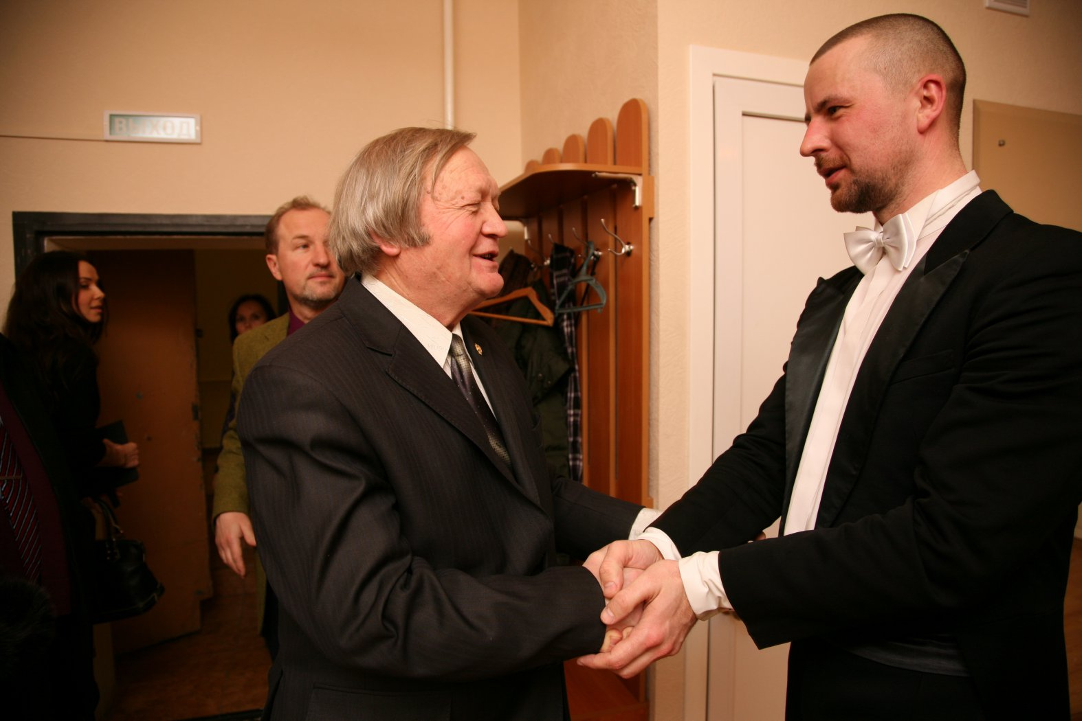 Борис Михайлович Егоров и Владимир Шкуровский