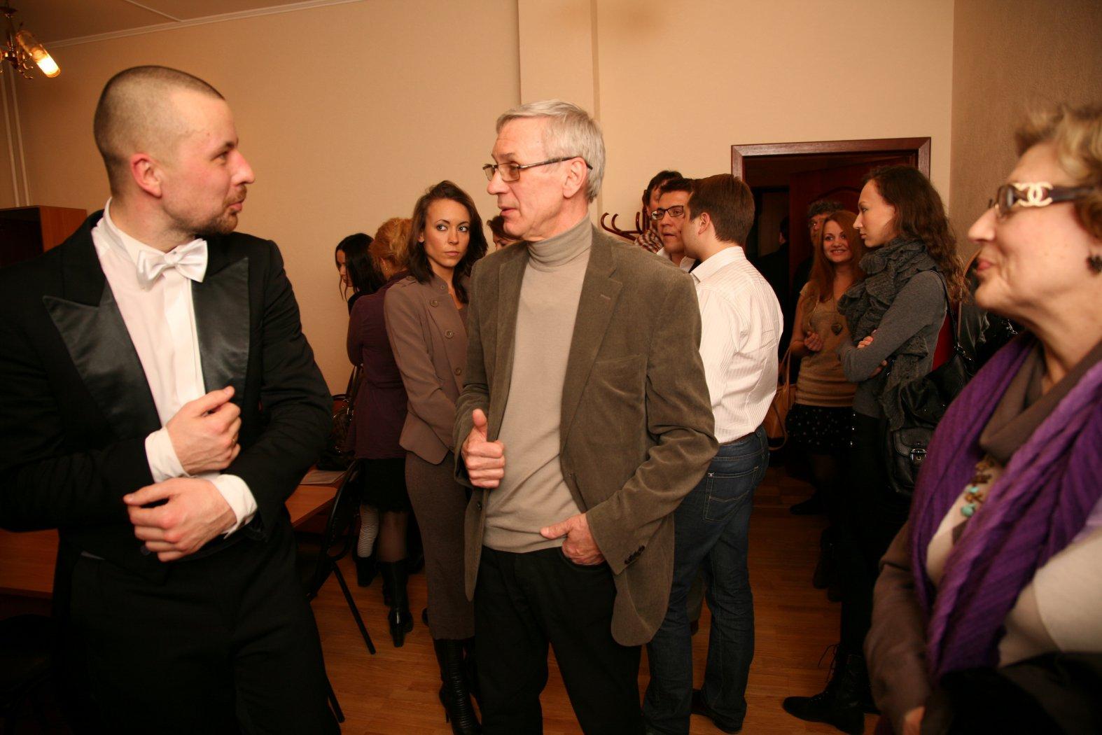 Владимир Шкуровский и Валерий Евгеньевич Зажигин