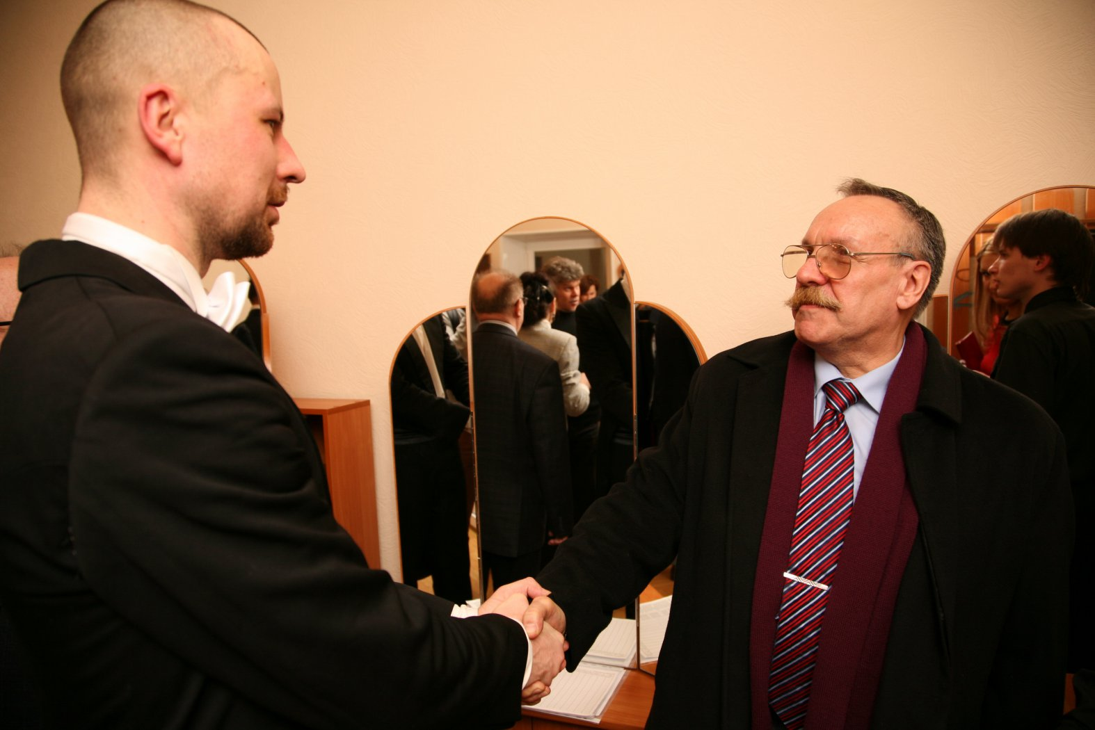 Владимир Шкуровский и Игорь Борисович Лоханев