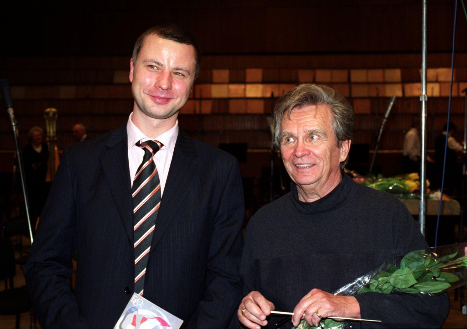 Владимир Шкуровский и Владимир Иванович Федосеев