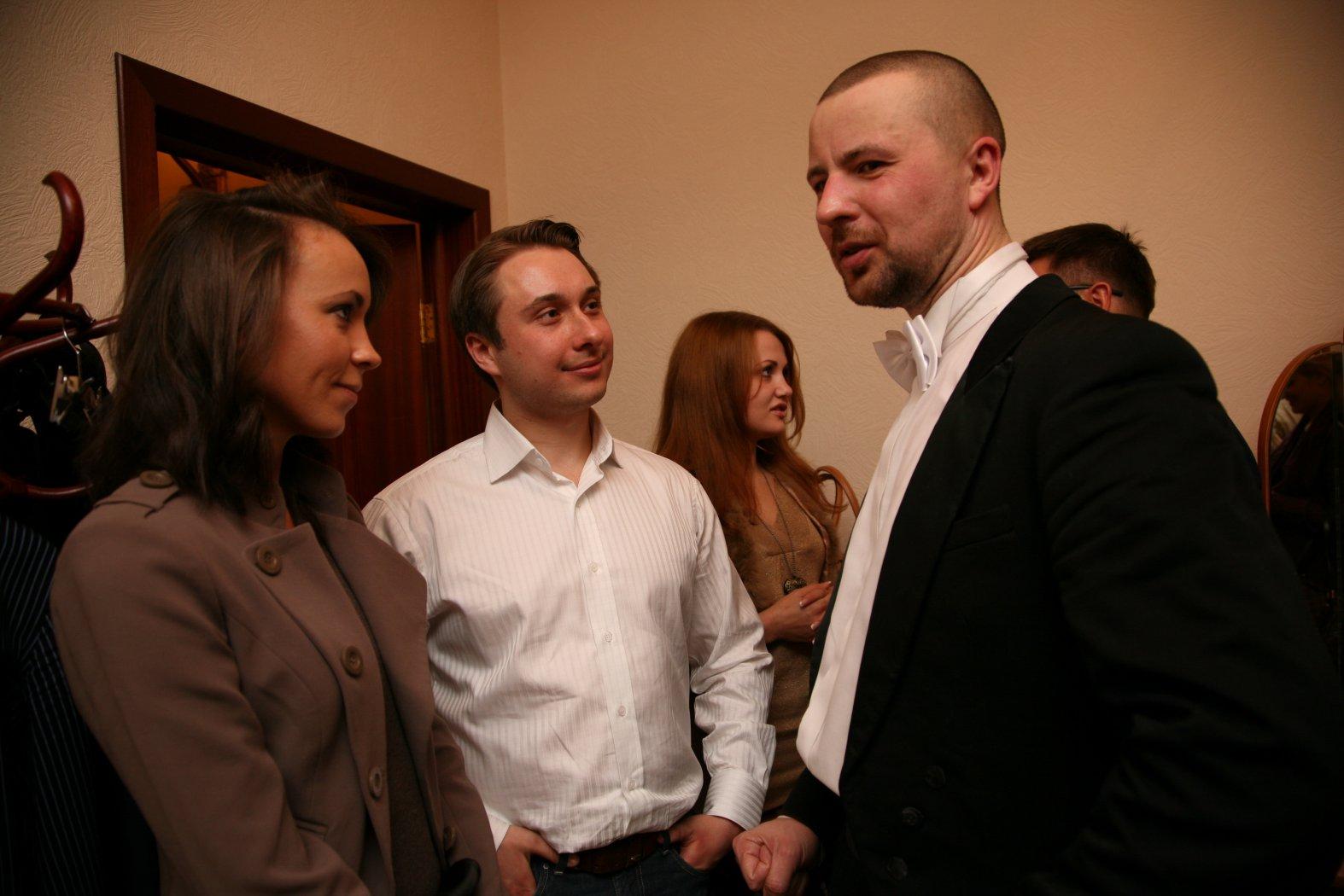 Ирина, Никита Ткачёв и Владимир Шкуровский