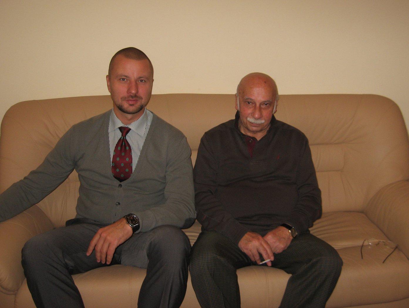 Владимир Шкуровский и Гия Александрович Канчели