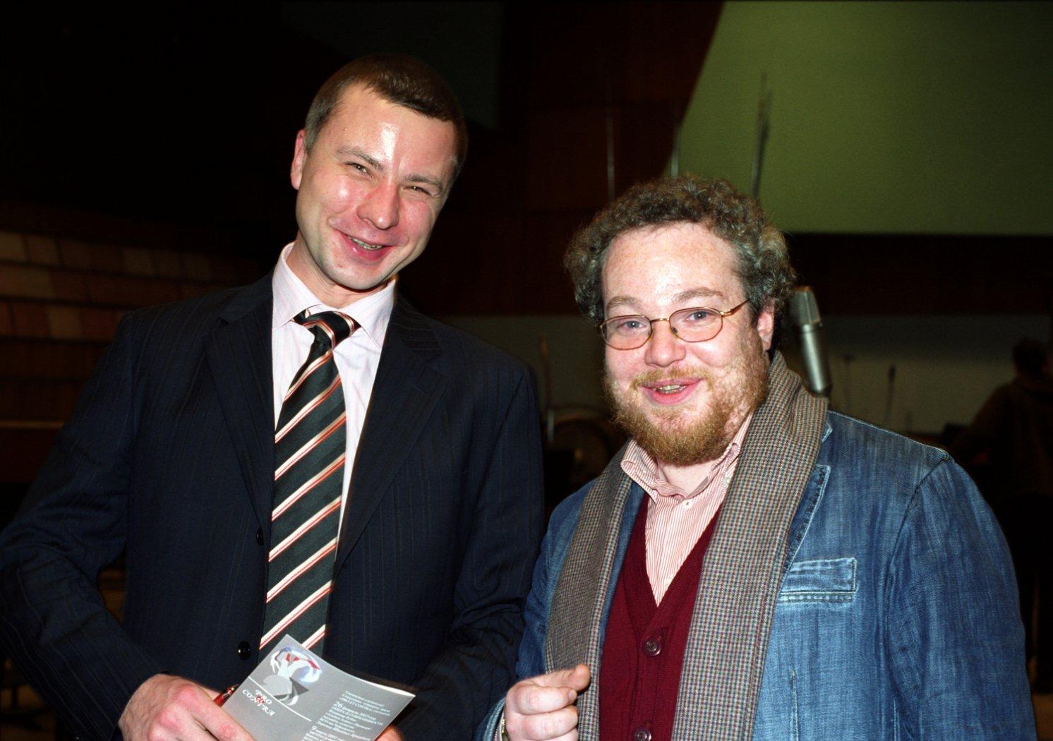 Владимир Шкуровский и Артём Варгафтик
