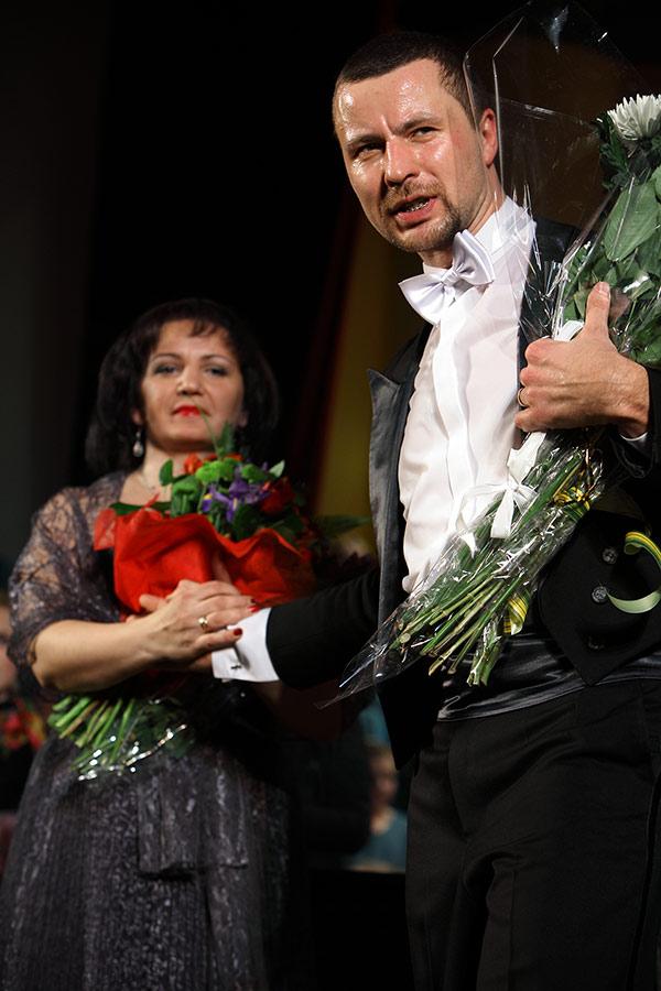 Алиса Гицба и Владимир Шкуровский