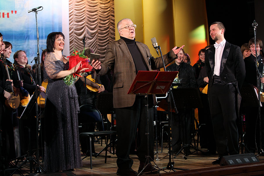 Алиса Гицба, Александр Сергеевич Белоненко и Владимир Шкуровский