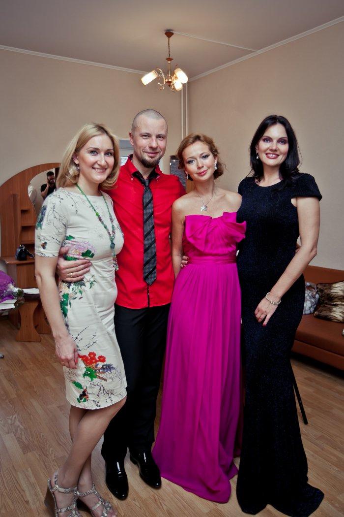 Анна и Владимир Шкуровские, Елена Захарова, Нина Шацкая