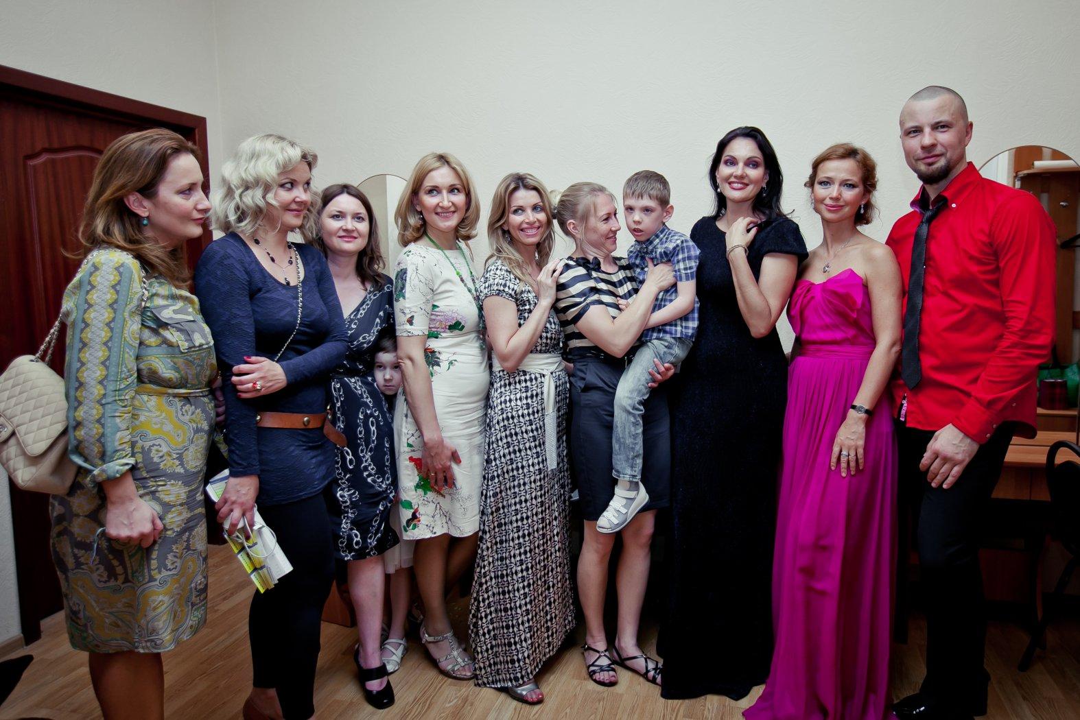 Команда совместного Благотворительного концерта РНО