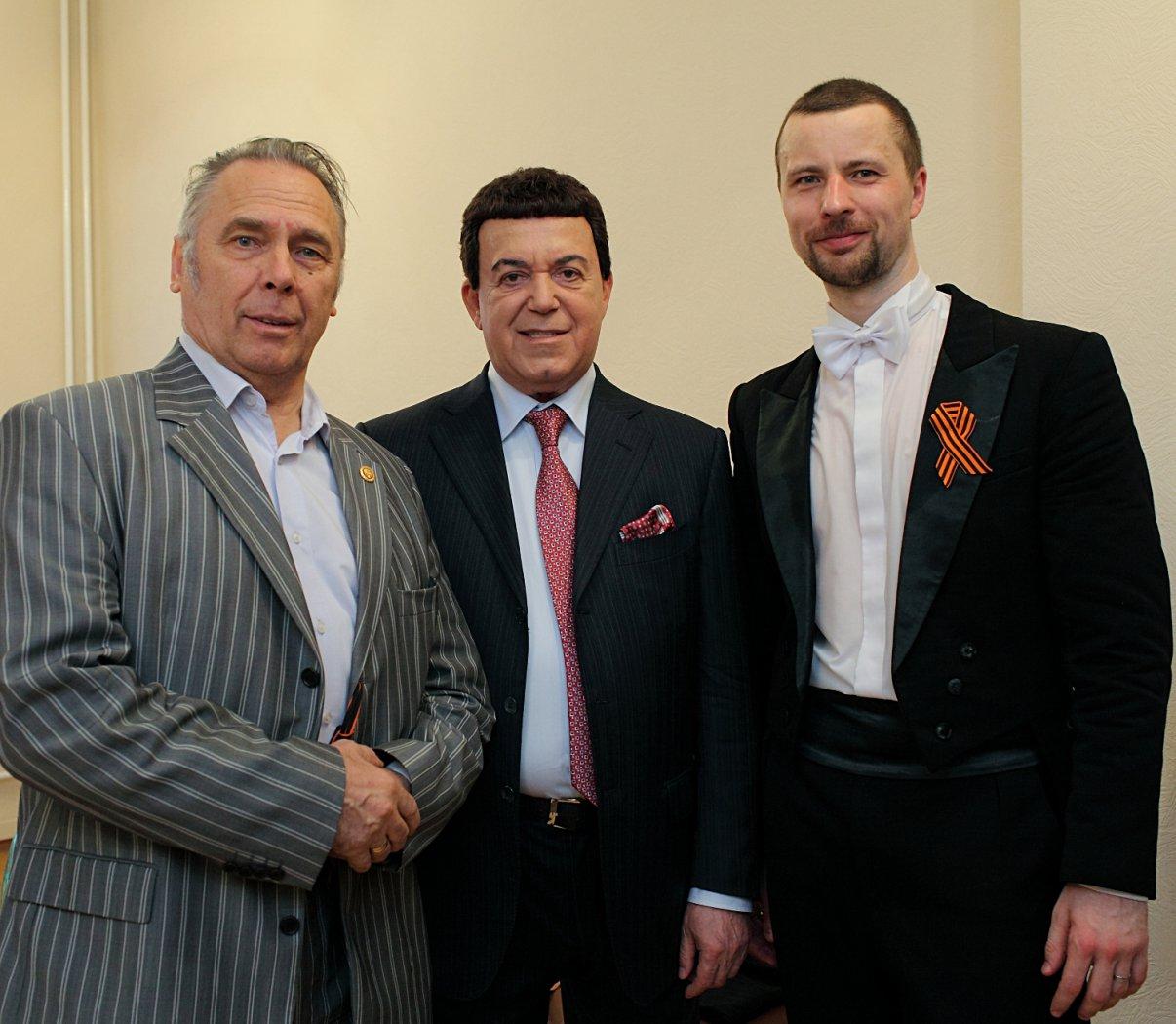 Владислав Иванович Пьявко, Иосиф Давыдович Кобзон, Владимир Шкуровский