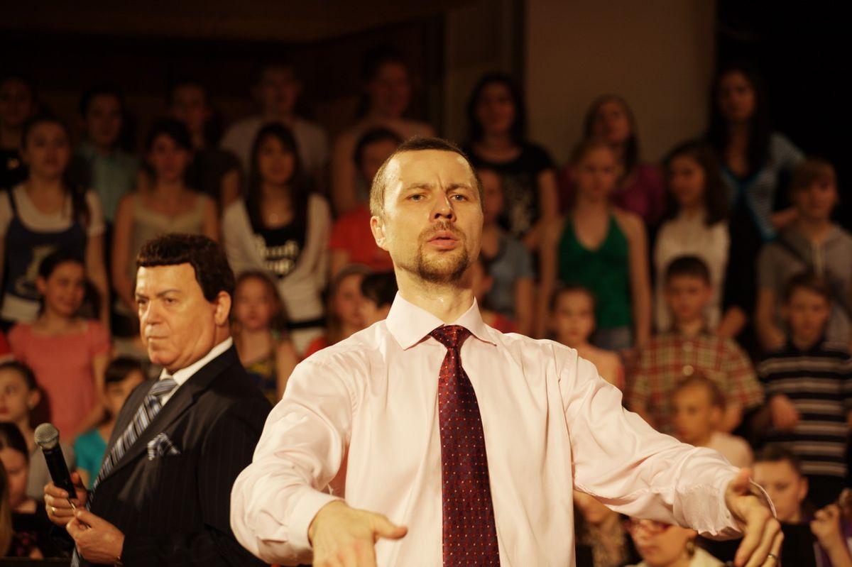 Репетиция с Иосифом Кобзоном